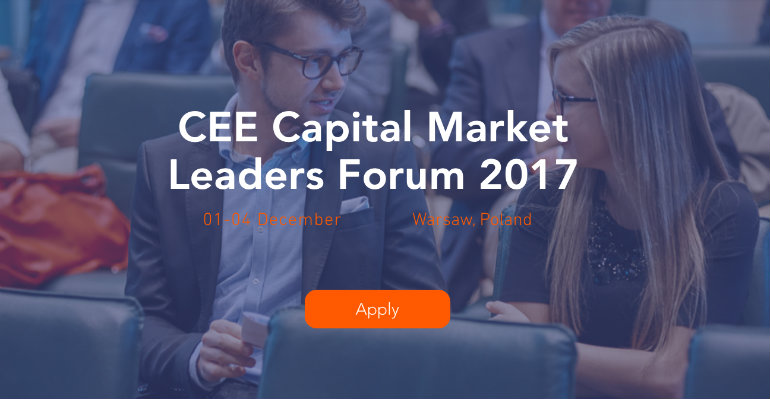 CEE Capital Market Leaders Forum 2017 - Varsó